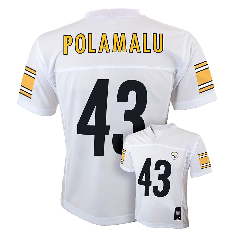 Pittsburgh Steelers Troy Polamalu NFL Jersey - Boys 8-20