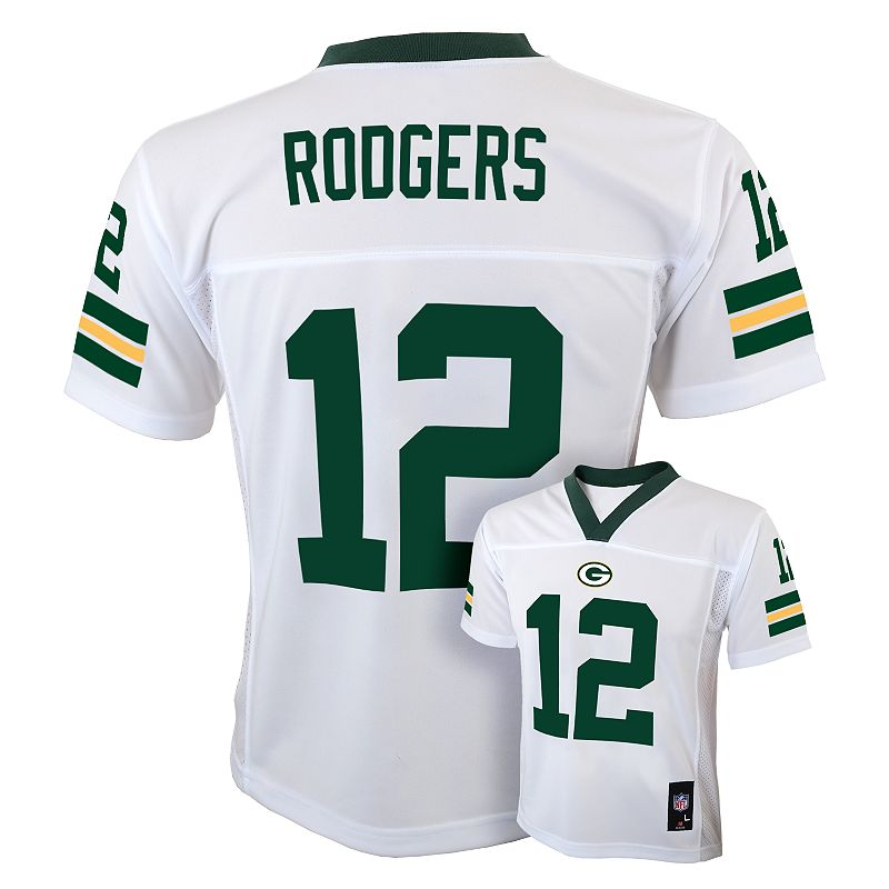 Green Bay Packers Aaron Rodgers NFL Jersey - Boys 8-20