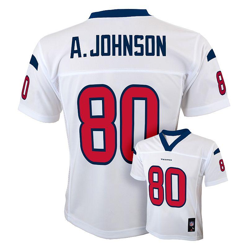 Houston Texans Andre Johnson Jersey - Boys 8-20