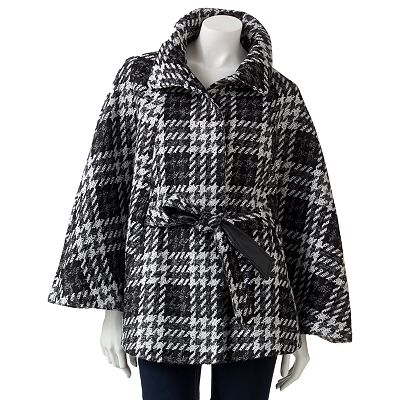 Apt. 9 Textured Tweed Cape