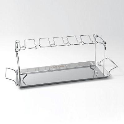Man Law BBQ Wing Rack