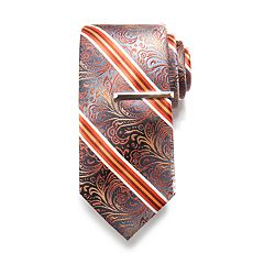 Apt. 9® Solid Satin Tie with Tie Bar