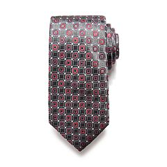 Men's Apt. 9® Solid Satin Tie with Tie Bar