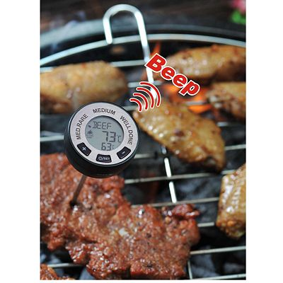 Man Law BBQ Digital Instant-Read Meat Thermometer
