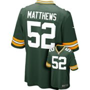 Nike Green Bay Packers Clay Matthews NFL Jersey - Men