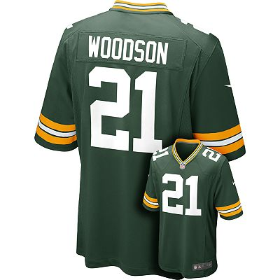 Nike Green Bay Packers Charles Woodson NFL Jersey - Men