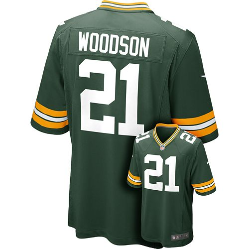 sports shoes d2e35 723eb Nike Green Bay Packers Charles Woodson NFL Jersey - Men
