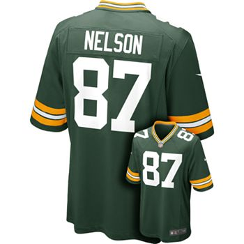 8877adf7c8b Men's Nike Green Bay Packers Jordy Nelson Game NFL Replica Jersey