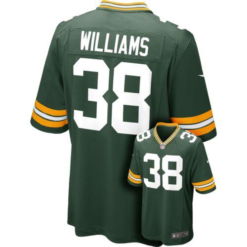 Nike Green Bay Packers Tramon Williams Game NFL Replica Jersey - Men