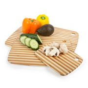 Core Bamboo Pin-Striped 3-pc. Cutting Board Combo Pack