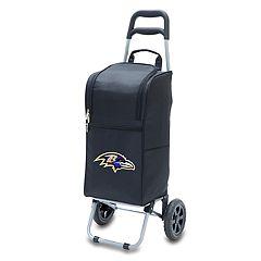 Picnic Time Baltimore Ravens Cart Cooler