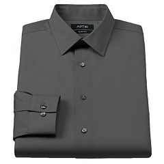 Men's Apt. 9® Slim-Fit Stretch Spread-Collar Dress Shirt