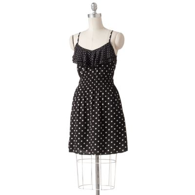 ELLE Polka-Dot Dress