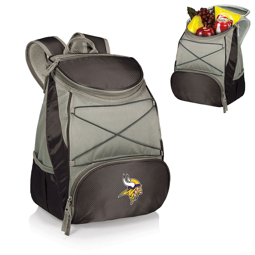Picnic Time Minnesota Vikings PTX Backpack Cooler