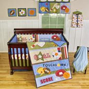Sumersault 9-pc. Action Sports Crib Set