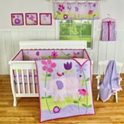 Sumersault 9-pc. Sweet Ellie Crib Set