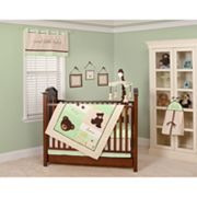 Pam Grace Creations 10-pc. Baby Bear Crib Bedding Set