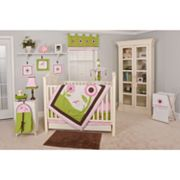 Pam Grace Creations 10-pc. Sophia's Garden Crib Bedding Set