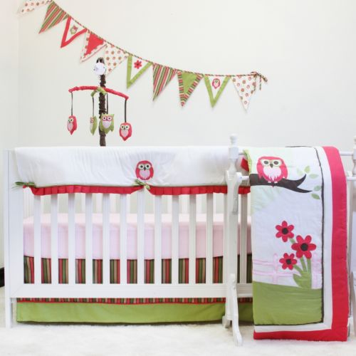 Pam Grace Creations 10-pc. Sweet Dream Owl Crib Bedding Set