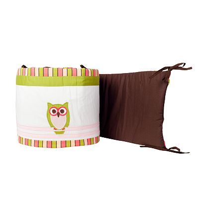 Pam Grace Creations Sweet Dream Owl Crib Bumper