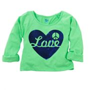 SO Love Heart Crop Top - Girls 7-16