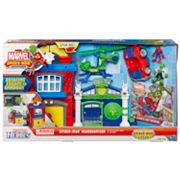 Marvel Spider-Man Adventures Playskool Heroes Spider-Man Headquarters by Hasbro