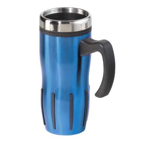 Oggi Lustre Stainless Steel Travel Mug