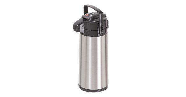 Oggi Pumpmaster Stainless Steel Vacuum Thermal Carafe