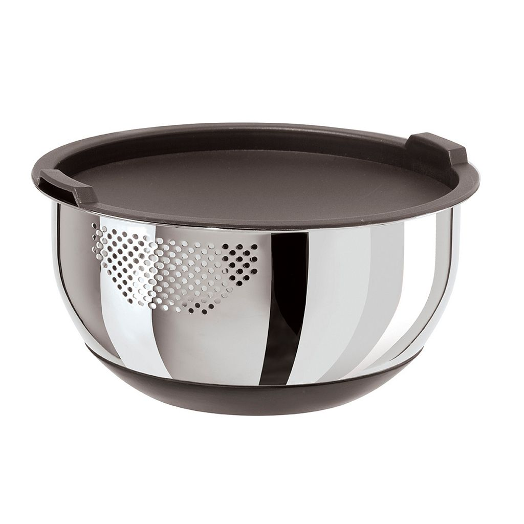 Oggi Stainless Steel Strainer Bowl