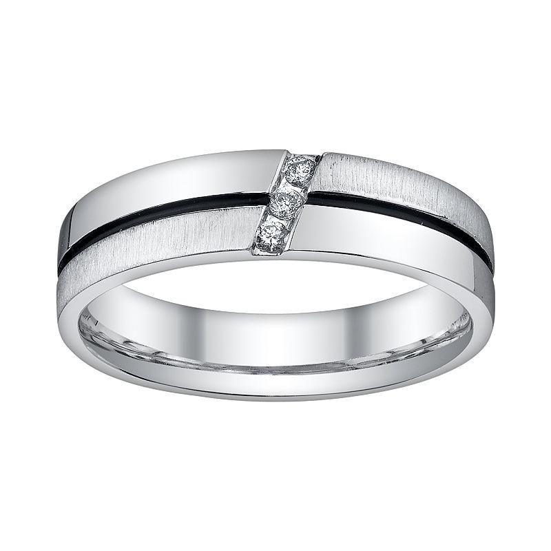 Mens diamond ring kohl 39 s for Kohls jewelry mens rings