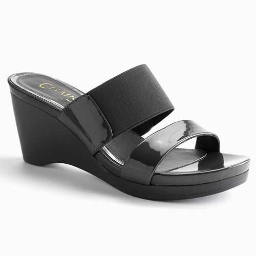 Chaps Wedge Sandals - Women