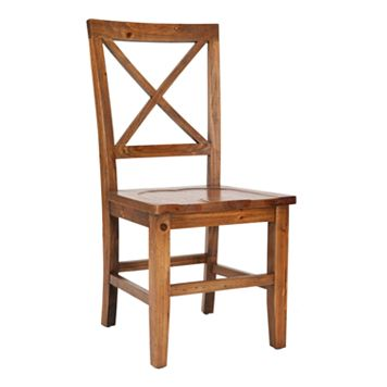 Safavieh 2-pc. Gavin Cross-Back Side Chair Set