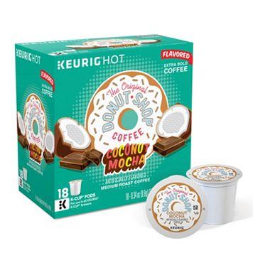 Keurig® K-Cup® Pod Coffee People Donut Shop Coconut Mocha Coffee - 18-pk.