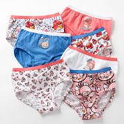 Angry Birds 7-pk. Briefs - Girls
