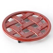 Food Network Enamel Cast-Iron Trivet