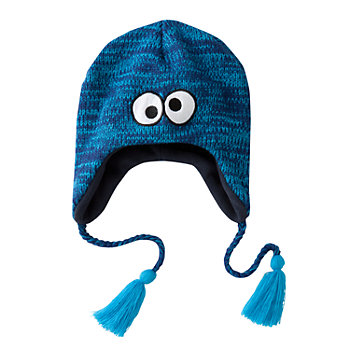 Sesame Street Cookie Monster Peruvian Hat