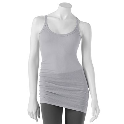 Mudd Ribbed Racerback Tank - Juniors