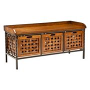 Safavieh Isaac Wooden Storage Bench