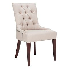 Safavieh Amanda Linen Side Chair