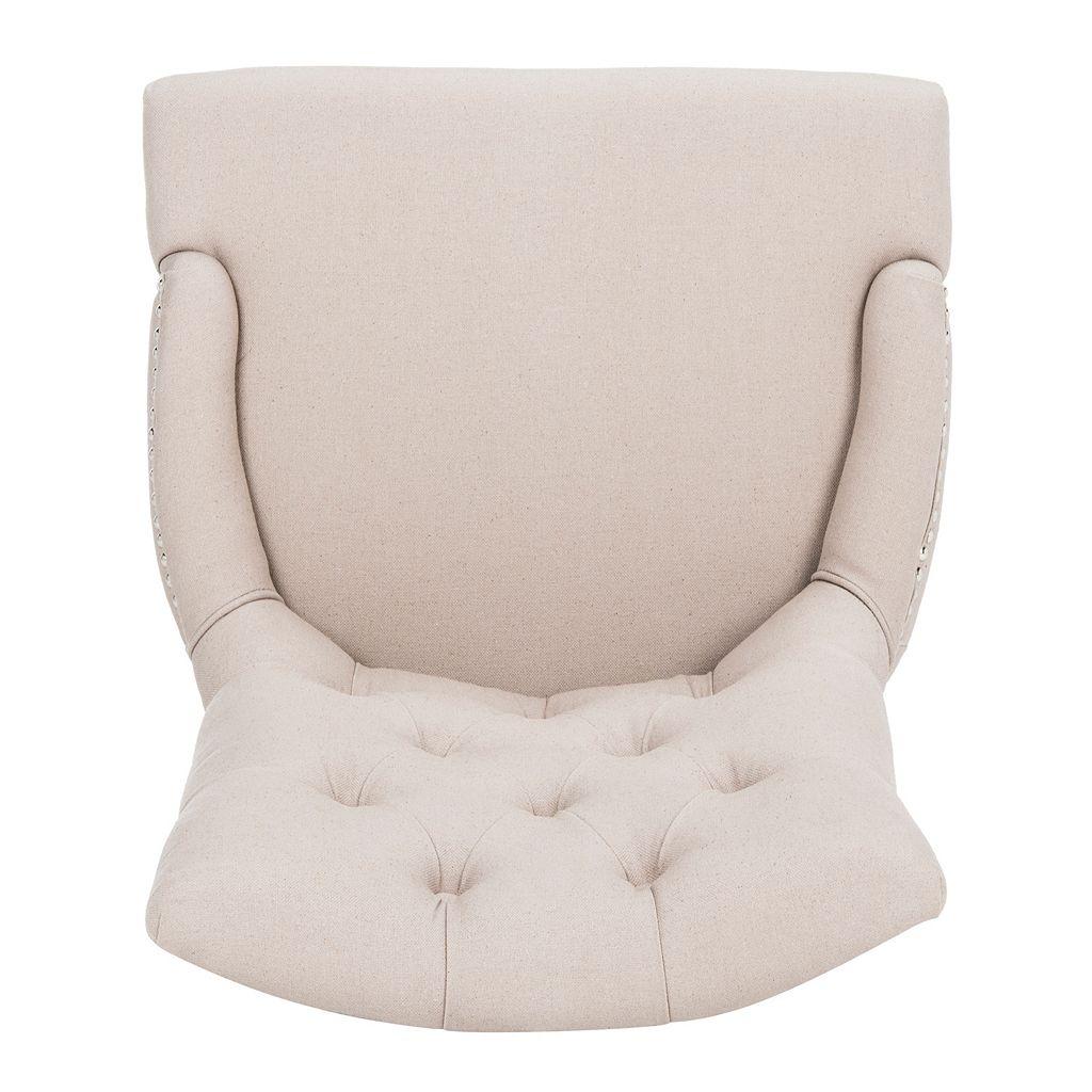 Safavieh Amanda Linen Side Chair