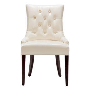 Safavieh Amanda Faux Leather Side Chair