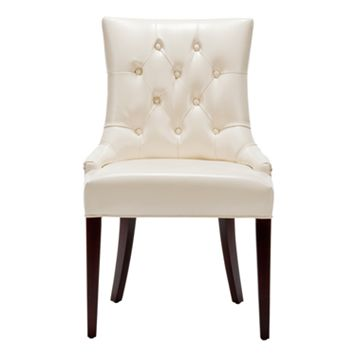 Safavieh Amanda Faux Leather Side Chair