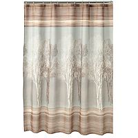 Home Classics® Tree Shadow Fabric Shower Curtain