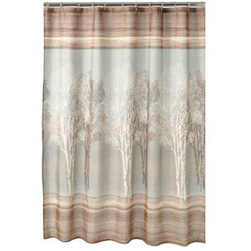 Home Classics® Tree Shadow Fabric Shower Curtain