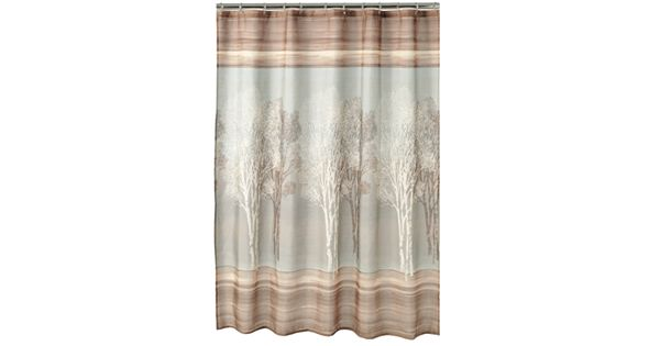 Home Classics 174 Tree Shadow Fabric Shower Curtain