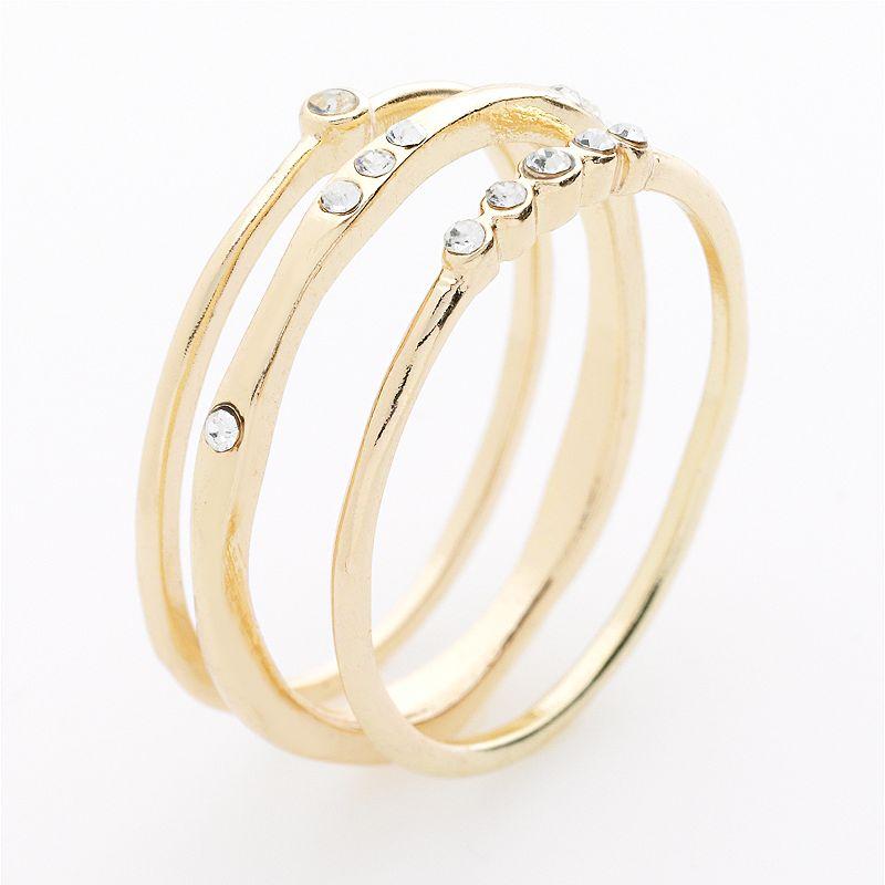 Yellow radiant ring kohl 39 s for Kohls jewelry mens rings