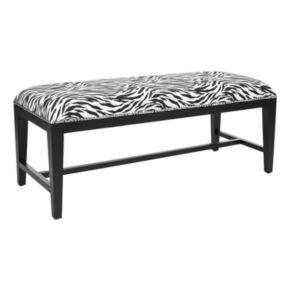 Safavieh Zambia Zebra Bench