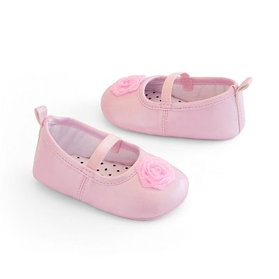 Carter's Rosette Mary Jane Crib Shoes - Baby