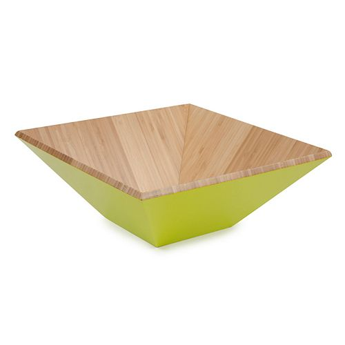 Core Bamboo Square Serving Bowl