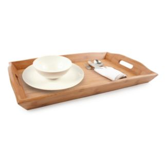 Core Bamboo Luxe Collection European Breakfast Serving Tray